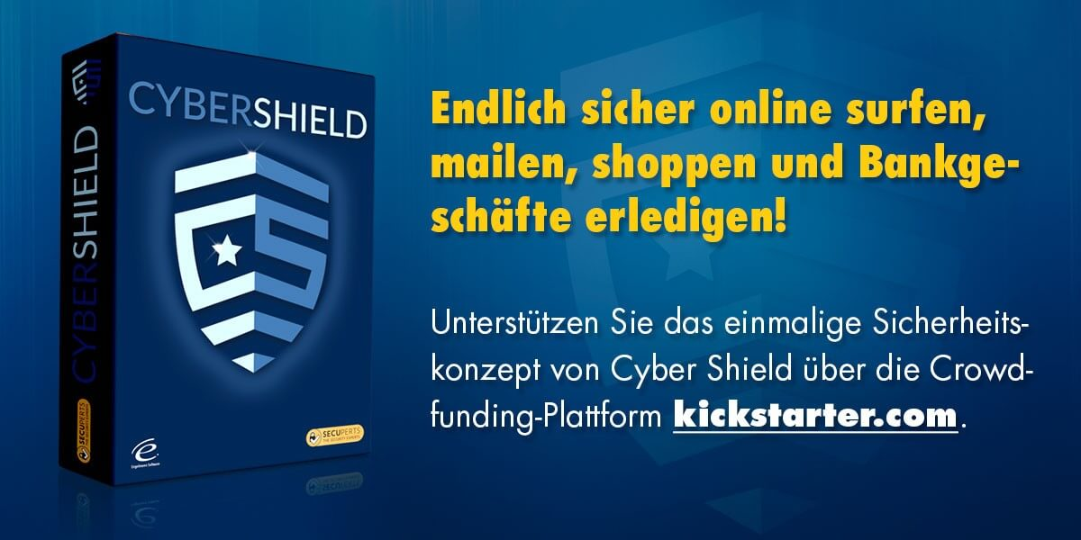 Cyber Shield Kickstarter Kampagne