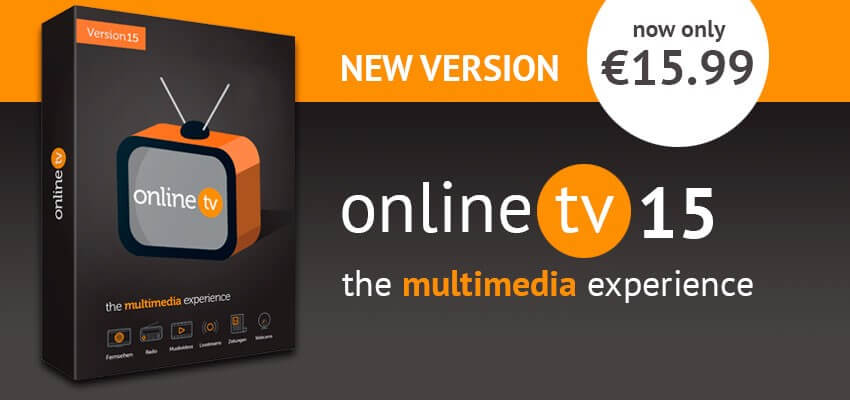 ᐅ Online TV 15 Offer | Engelmann Software | Made in Germany