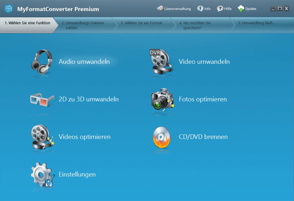 Screenshot MyFormatConverter Premium