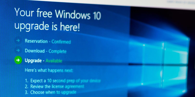 """Kostenfreies Upgrade auf Windows 10 - verbliebene """"Schlupflöcher"""""""