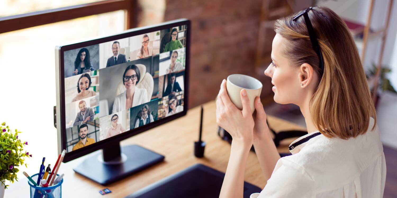Zoom oder Teams: Homeoffice und vermehrte Videokonferenzen im Arbeitsalltag - das wird nach dem Lockdown sicherlich bleiben